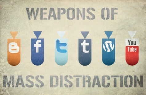 distraction hacks social media