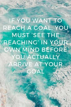 visualize the goal