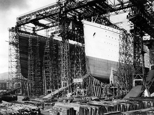 Harland and Wolff shipyard