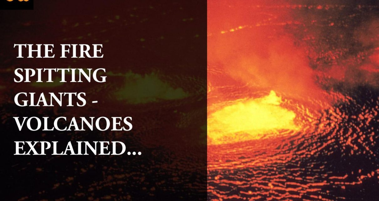 Volcanoes Explained